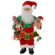 Santa Claus with Gingerbread Cookies - 46cm