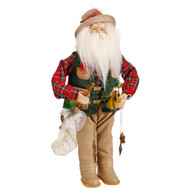 Fishing Santa Claus-36cm