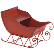 Red Metal Sleigh-64cm