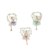 Fairy in Swing Hanging Ornament - 10cm