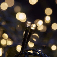 100pc Connectable LED Fairy Lights - Warm White