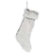 Cosgrove Brown Faux Fur Stocking