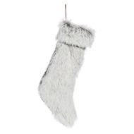Cosgrove Brown Faux Fur Stocking