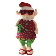 Red Elf Extendable Christmas Decoration