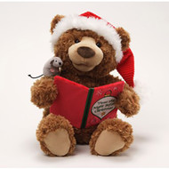 Storytime  Animated Plush Bear