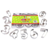 Number Cookie Cutter Boxed Set Large 9pce