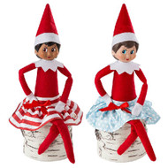 Elf Claus Couture - Twirling Snow Skirts 2 pk