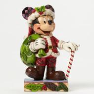 Jim Shore Christmas Mickey Personality Pose Figurine