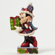 Jim Shore Christmas Minnie Personality Pose Figurine