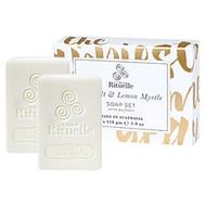 Sea Salt & Lemon Myrtle  Soap Set