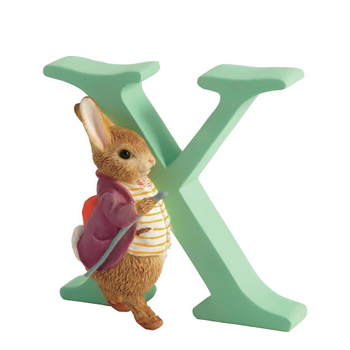 Beatrix Potter - Letter X  Mr Benjamin Bunny Figurine