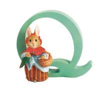 Beatrix Potter Classic - Letter Q Mrs Rabbit Figurine