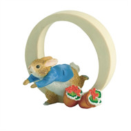 Beatrix Potter Classic - Letter O Peter Rabbit Figurine