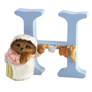 Beatrix Potter Classic - Letter H Mrs Tiggy-Winkle Figurine