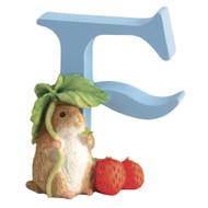 Beatrix Potter Classic - Letter F Timmy Willie Figurine