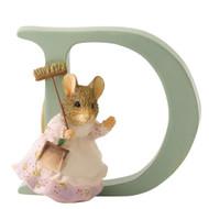 Beatrix Potter Classic - Letter D Hunca Munca Figurine