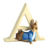 Beatrix Potter Classic - Letter A Peter Rabbit Figurine