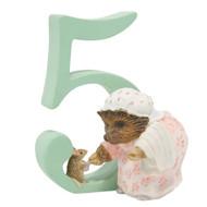 Beatrix Potter - Age 5 Mrs Tiggy Winkle Figurine - Number 5