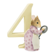 Beatrix Potter - Age 4 Hunca Munca Figurine - Number 4