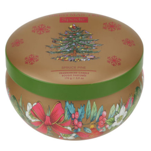 Spode Spruce Pine Christmas Candle