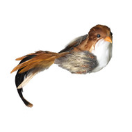 Feather Bird Brown - 16cm
