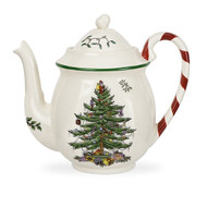 Spode Teapot with Peppermint Handle