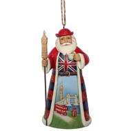 Jim Shore  HO British Santa Hanging Ornament