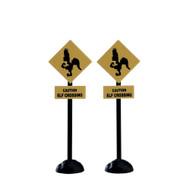Lemax Elf Crossing Sign