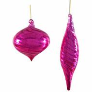 Katherines Pink Fifi Mercury Glass Finial (2 Designs)