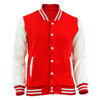 Bcpolo Baseball Jacket Varsity Cotton Jacket Red Baseball Jacket