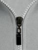 Casual zip hoodie sleeveless hoodie jacket-melange zipper detail