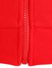 Casual zip hoodie sleeveless hoodie jacket-red