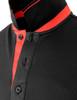 black-collar detail