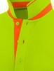 light green-collar detail