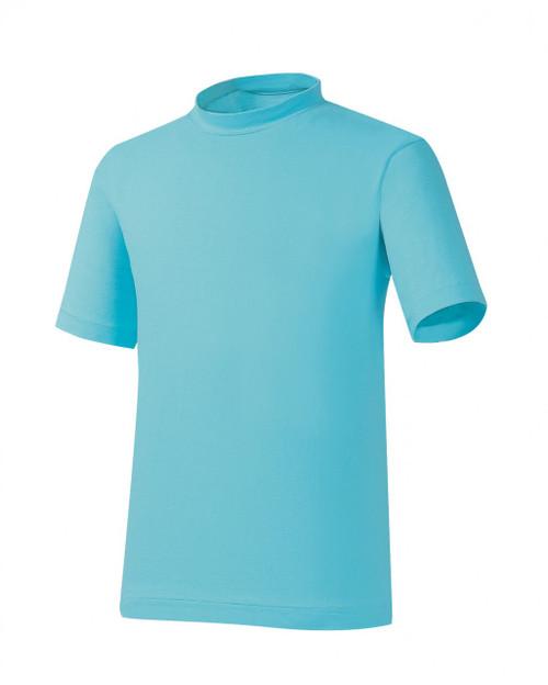 Bcpolo Orange Round T-Shirt Short Sleeves Basic T-Shirt Crew Neck Cotton T-Shirt