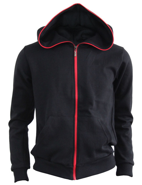 BCPOLO Cotton Full Zip-up Hoodie_ BLACK