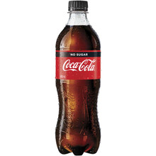 Coke No Sugar Added (600 ml/20oz)