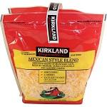 Kirkland Shredded Mexican Blend Cheese (1.13 kg/ 2.5 lb )
