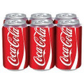 Coca Cola 6 Pack (355ml/12 oz)