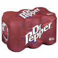Dr. Pepper 6 Pack (355ml/12 oz)
