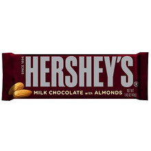 Hershey's Chocolate with Almonds 3 Pack (38 gm/1.34 oz each)
