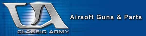 Classic Army Guns & Parts Banner