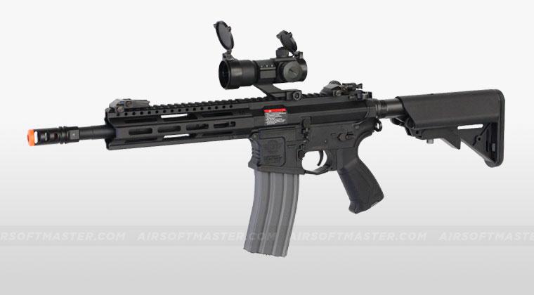 airsoft airsoftmaster under guns machine gun combat raider cap echo1