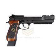WE Tech Barry Burton Biohazard M9 Custom Semi/Full Auto GBB Pistol