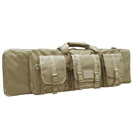 "Condor 42"" Rifle Case - Angled View"