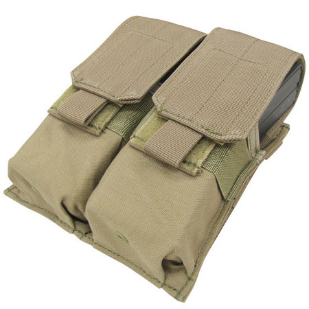 Condor MA4 MOLLE Double Mag Pouch in Tan