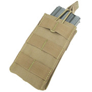 Condor MA18 MOLLE Single Open Top M4/M16 Mag Pouch Tan