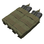 Condor MA19 MOLLE Double Open Top M4/M16 Mag Pouch in OD