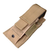 Condor MA32 MOLLE Single Pistol Mag Pouch in Tan