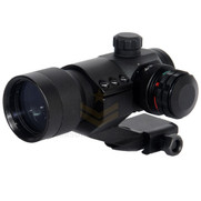 Lancer Tactical CA-404B 4 Reticle Red & Green Dot Scope w/ Cantilever Mount